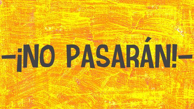 Но пасаран — википедия. что такое но пасаран