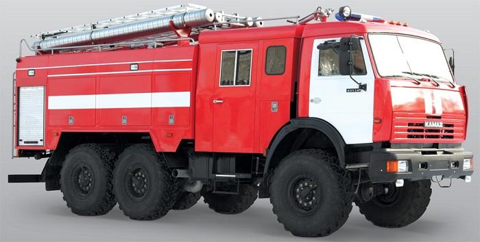 Пожарный автомобиль первой помощи: описание и конструкция