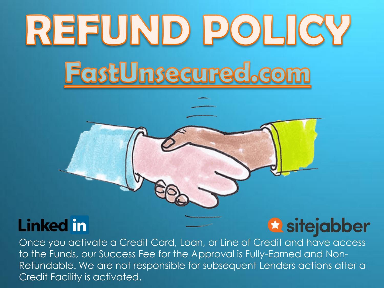 Refund policy (usa)