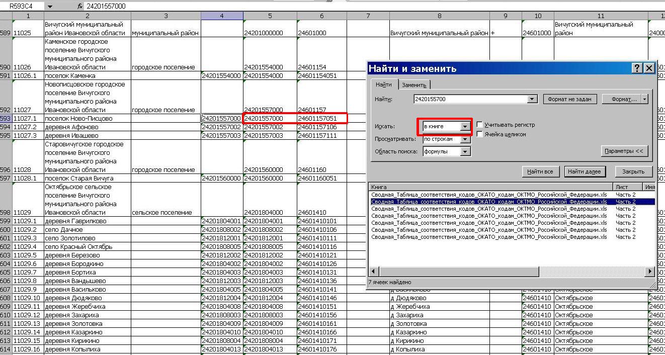 Классификатор октмо с расшифровками. узнать октмо по адресу