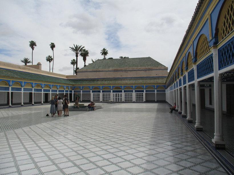 Маракеш - курортный город на западе страны марокко