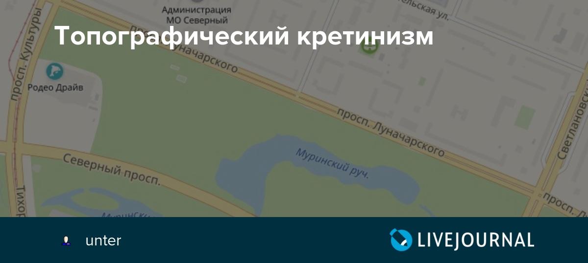 """""""топографический кретинизм"""". мнимый и настоящий - brainapps.ru"""