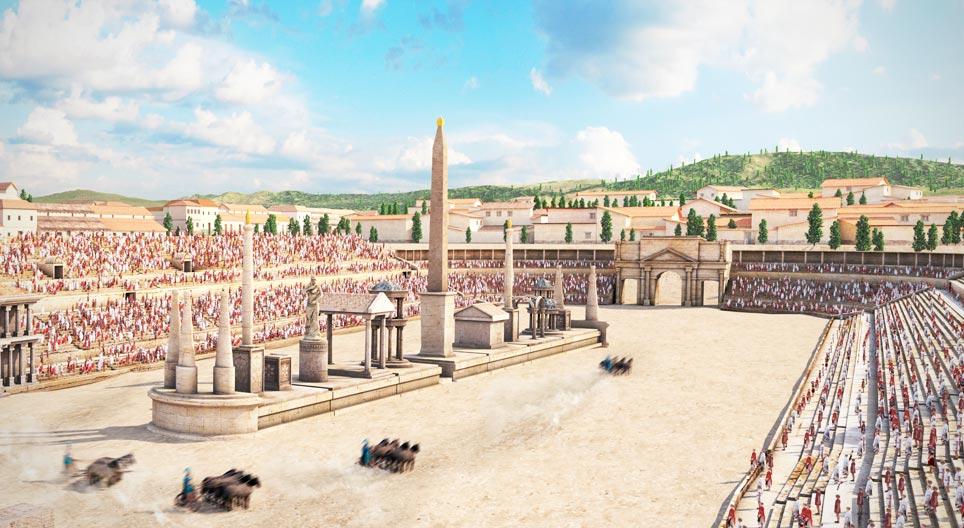 Большой цирк. здесь был рим. современные прогулки по древнему городу