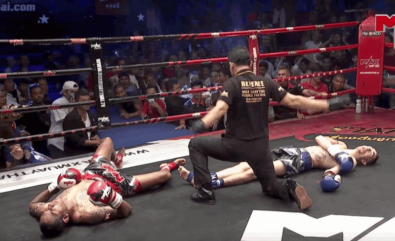 Что такое технический нокаут в боксе:означает изначит