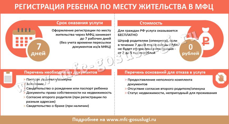 Свидетельство о регистрации по месту жительства ребенка - форма №8: где получить документ о месте прописки детей