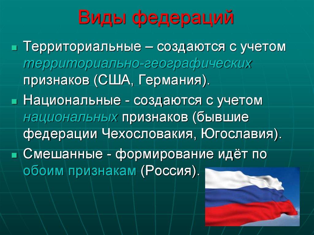 Субъекты российской федерации