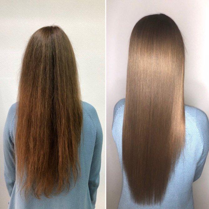 Преимущества и недостатки ботокса для волос. побочные эффекты