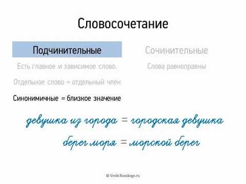 Словосочетание — википедия. что такое словосочетание