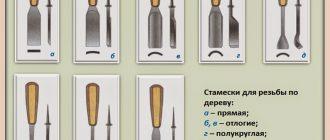 Чем отличается долото от стамески? особенности их конструкции и использования