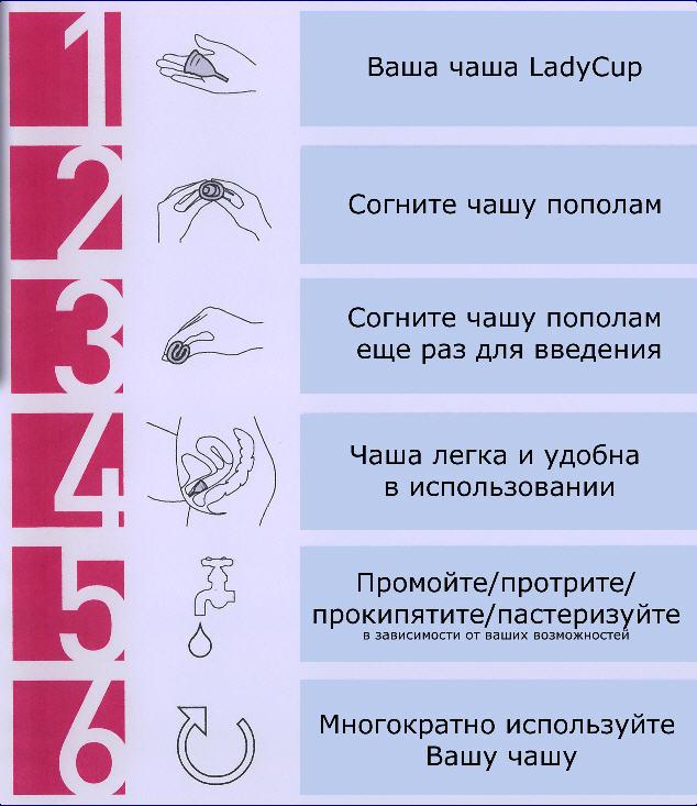 Менструальная чаша: фото, инструкция и отзывы