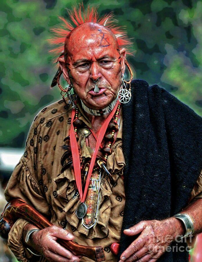 стрижка ирокез мужской