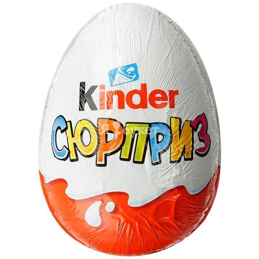 Шоколадное яйцо с сюрпризом: история бренда kinder