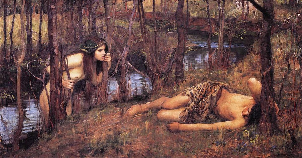 Нимфы - повелительницы природы в мифологии