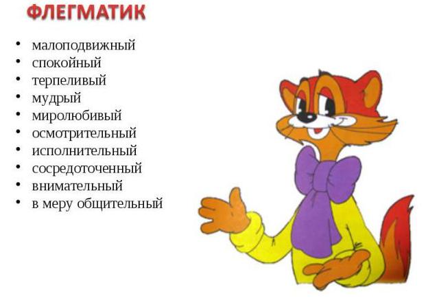Флегматик - характеристика женщины, мужчины, ребенка