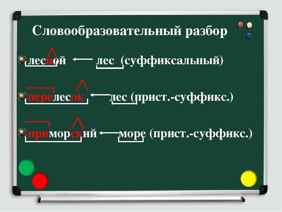 Словообразовательный разбор слова в русском языке — примеры