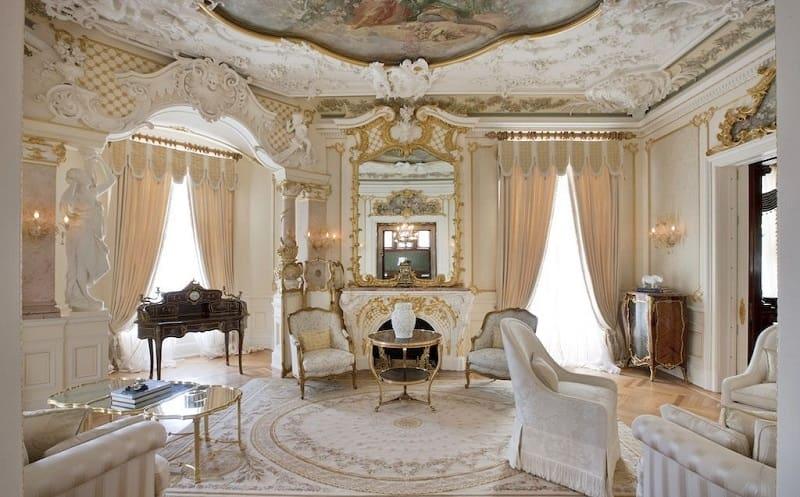 Стиль рококо в интерьере, архитектуре, одежде и живописи