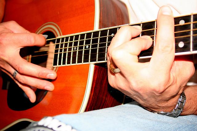 """Барре на гитаре. как ставить прием """"баррэ"""", на гитаре"""