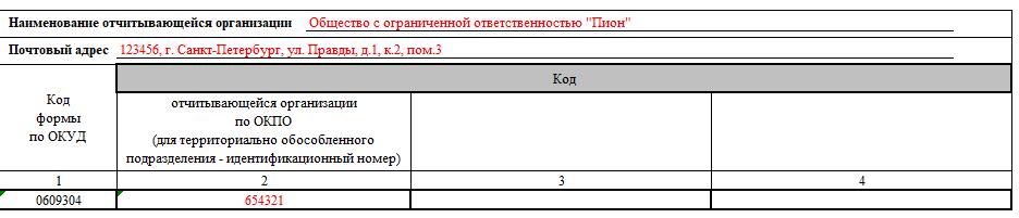 Адресный листок убытия (форма 7): образец заполнения