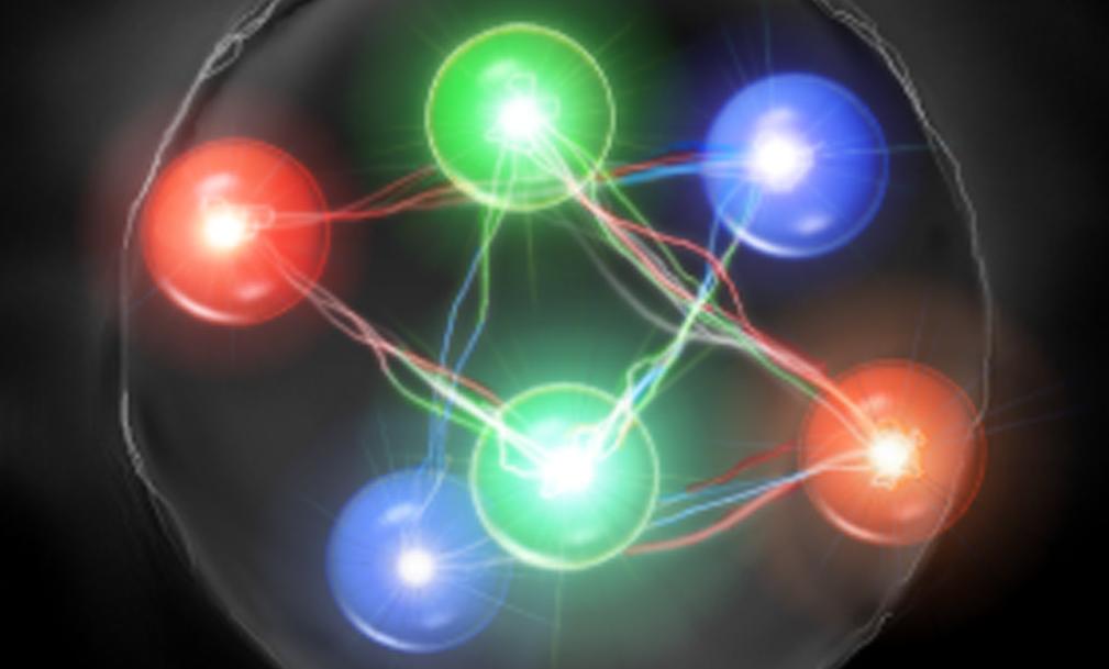 Элементарные частицы. кварки. свойства кварков.