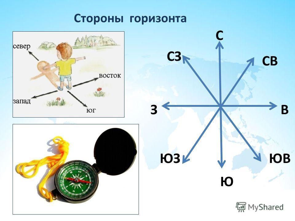 Горизонт – что такое стороны горизонта? (2 класс, окружающий мир) - помощник для школьников спринт-олимпик.ру