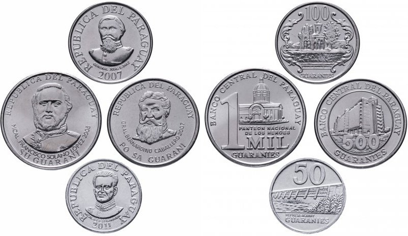 Как называются стороны монеты и что на них изображено?