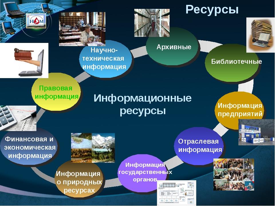 Государственные информационные ресурсы: основные понятия, формирование и обеспечение