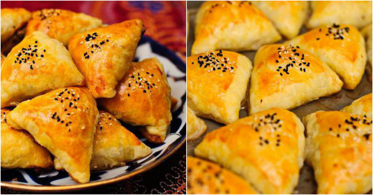 Самса: домашние рецепты приготовления самсы с курицей из слоенного теста и не только