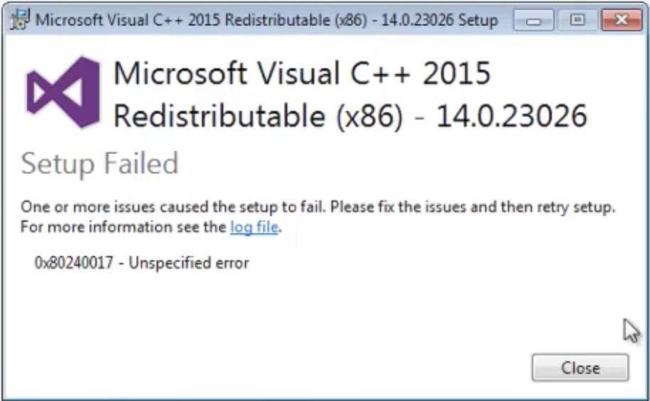 Как исправить ошибку msvcp140 dll — скачать для windows