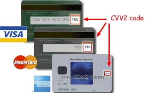 Защита ccv иccv2: где расположены коды накартах, икогда ихприменяют