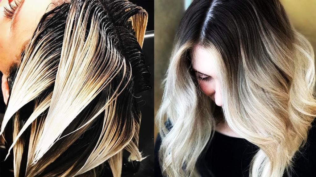 Красное омбре (45 фото): окрашивание темных и светлых волос, омбре с красным цветом на короткие и длинные русые волосы