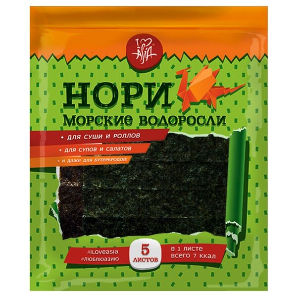 Водоросль нори - польза и вред, фото листьев, а также рецепты