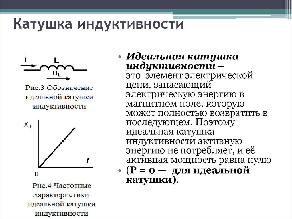 Катушка индуктивности — википедия. что такое катушка индуктивности