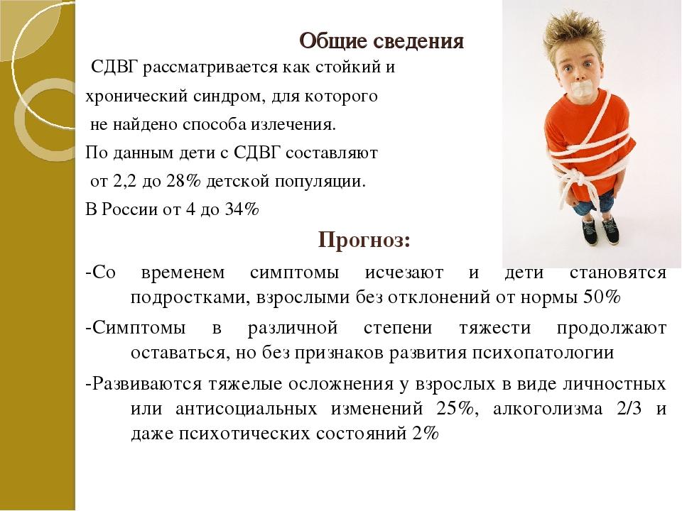 Синдром сдвг у детей