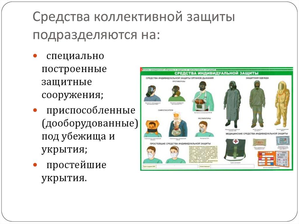 § 6. средства коллективной защиты  [1985 - - начальная военная подготовка]
