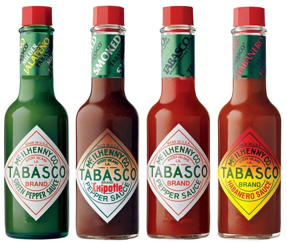 Tabasco :перечный, острый, легендарный