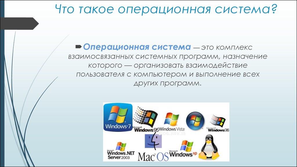 Windows – что это такое, устройство операционной системы