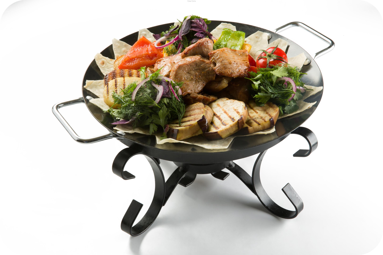Садж: ягненок с овощами во фритюре - рецепты халяль - мусульмак