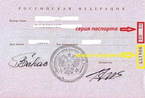 Серии и номера паспортов: где находятся, где могут быть затребованы