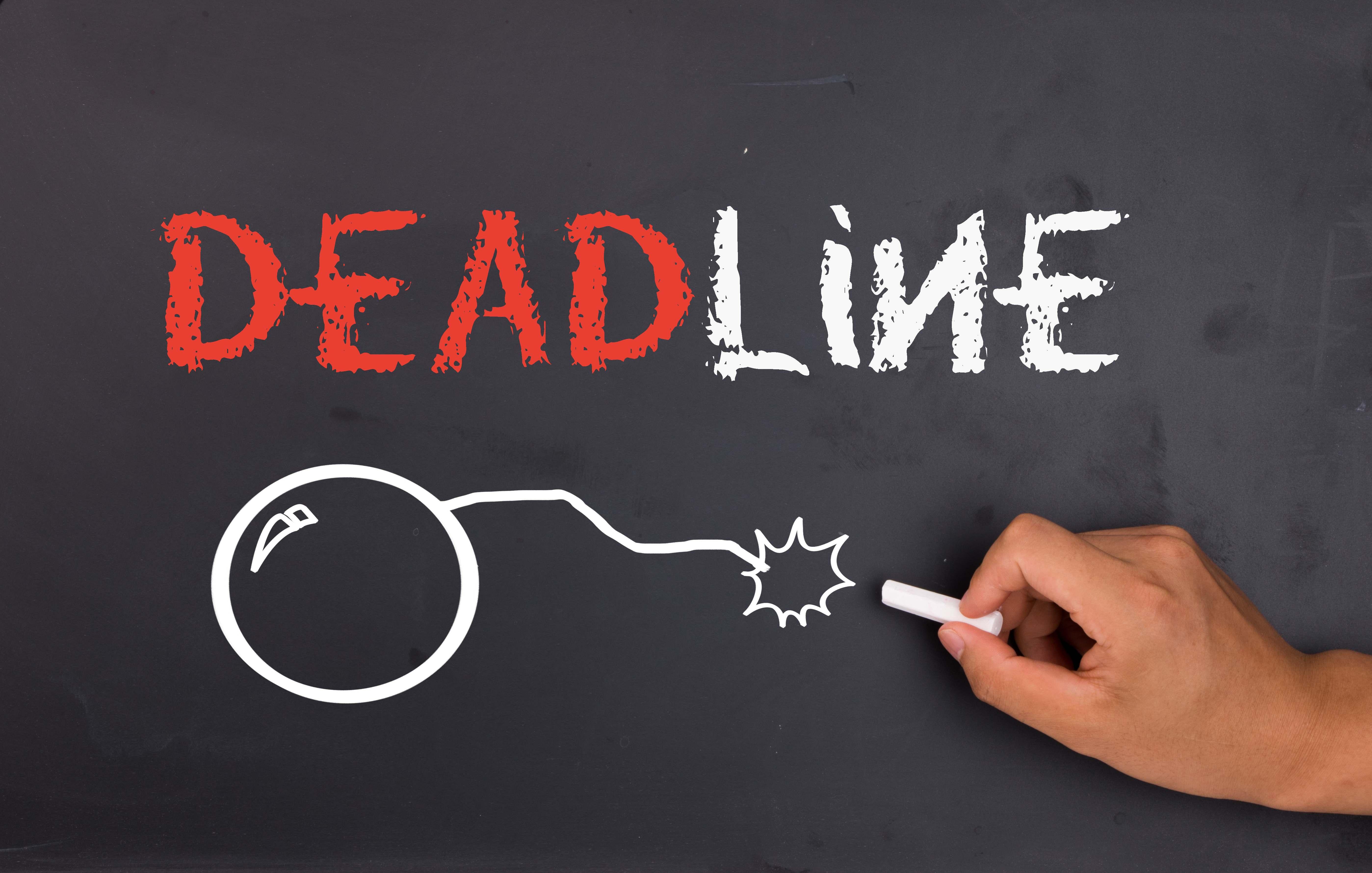 Дедлайн (deadline) - что это значит и где применяется
