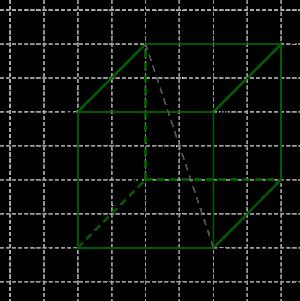 Как найти площадь поверхности куба?