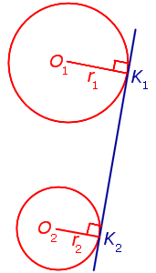 Касательная прямая к окружности — википедия. что такое касательная прямая к окружности
