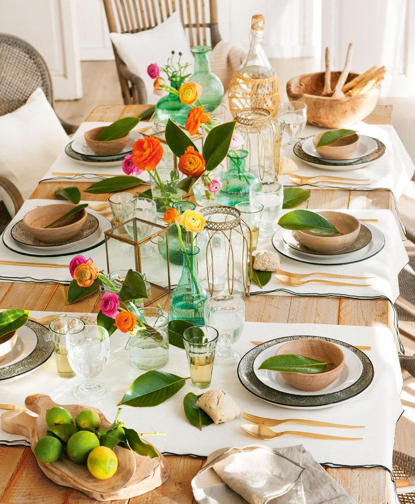 Сервировка стола в домашних условиях: виды, правила, свежие идеи.