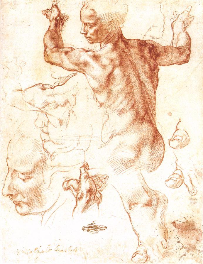 Сангина — популярный художественный материал с эпохи возрождения до наших дней