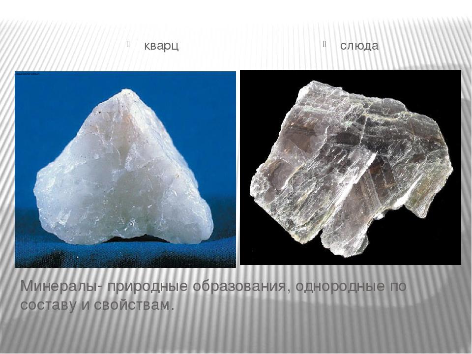 Слюда - это что за минерал? описание и свойства слюды