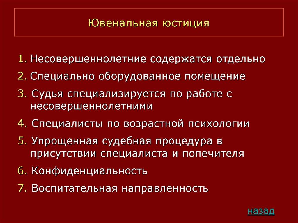 Ювенальная юстиция – что это такое, как она работает в россии