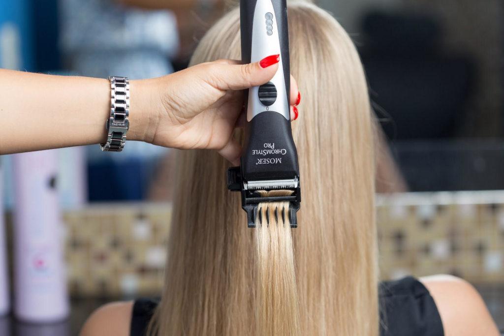 Полировка волос — механическое удаление секущихся кончиков