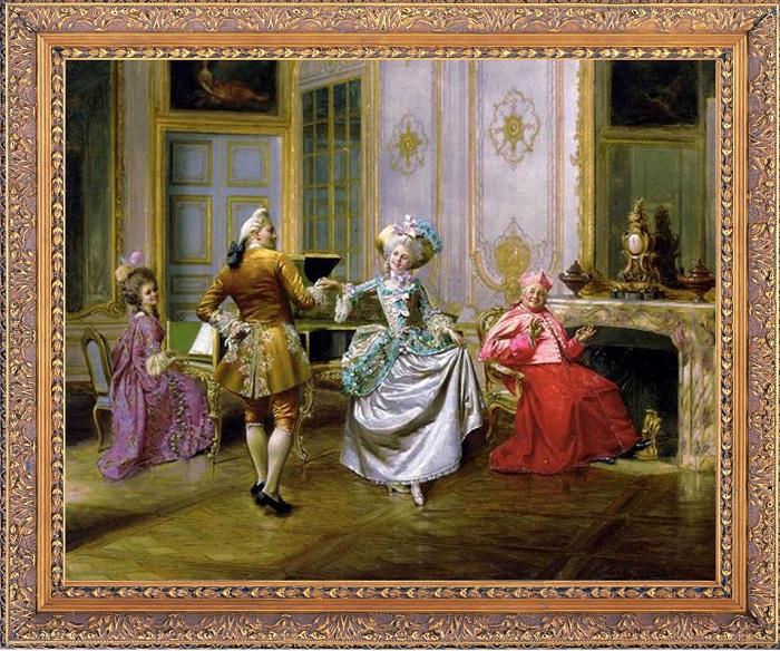 Менуэт - это танец прошлого, который стал основной для новой музыки