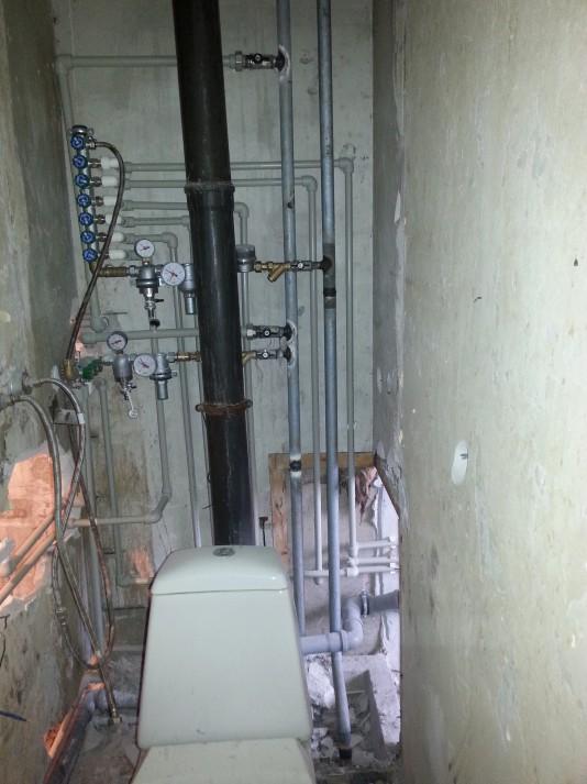 Главный стояк системы отопления