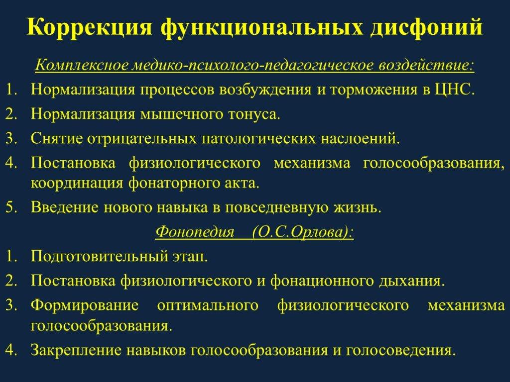 Дисфония - причины, симптоматика, методы коррекции
