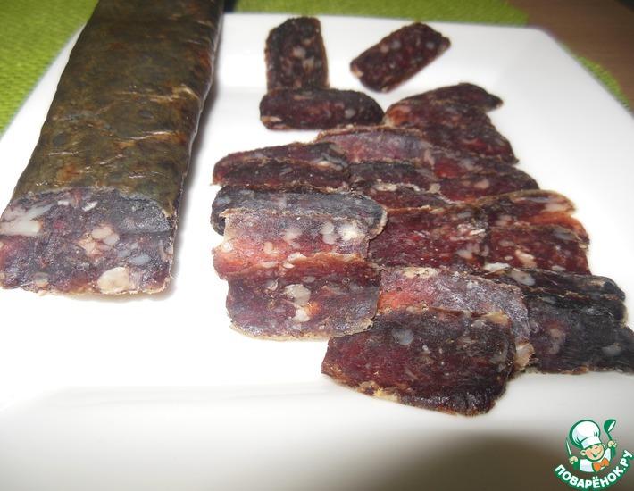 Из чего делают суджук армянский- рецепт пошаговый с фото